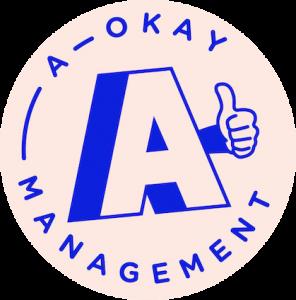 A Okay Management Logo